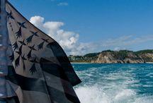 Le Gwenn ha du voyage... / Le drapeau breton n'est pas un petit voyageur..on le retrouve dans toute la Bretagne et bien d'autres pays...