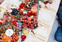 Grazing feast table