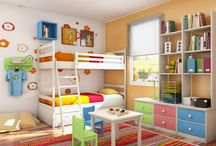 Designing Brett's room/playroom / Ideas for designing and decorating my little boys room / by Carole Sullivan
