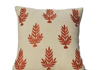 leaves pillow