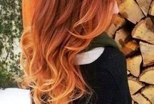 Warm colour / Hair colour