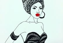 Fashion illustration by me