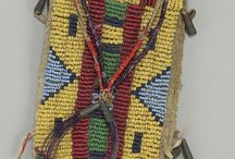 Native American Beadwork / Native American beadwork and quillwork.