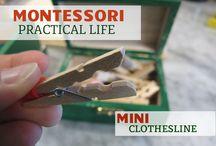 Homeschool - Montessori - Practical Life