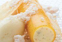 Dessert Polarstang med ananas / Is rulle