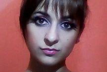Hair ~ haj, makeup ~ smink / I love hair buns, braids, ponytails <3