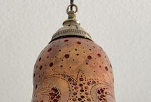 Tykev- svítidla a různé ozdobné předměty