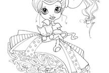 Betsie & Friends coloring pages / by Christine Cadele