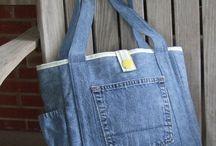 Jeans/stickat