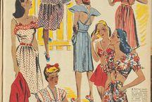 1940s Casual Sportswear & Play Wear