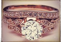engagement rings. / by Bailey Holmes