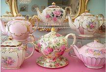 Pretty pinks / High tea