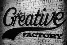 Creative Factory / Lettering handmade by Bruno Allard creation ©