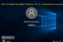 How to enable the hidden Windows 10 / 8.1 administrator account