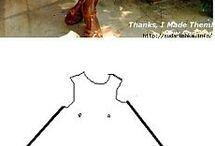 střihy šatů