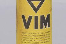 Vintage verpakkings