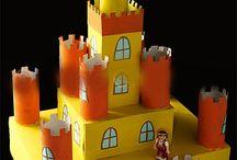 Thema ridders en kastelen