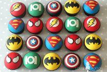 Tortas de superheroes