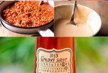 Sirupy a marmelády