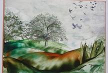 Encaustic - My own work