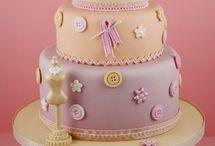 pasteles de alta costura