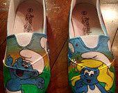 Shoes - smurfs tekkies / smurfs tekkies