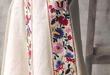 Идеи этно - вышивки