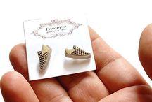 Fun Stud Earrings / by Marjorie Biffle