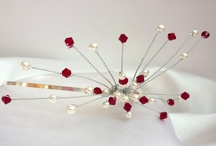 Red and Ivory Wedding Theme / A selection of our red and ivory products