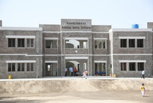 Amna Girls High School / After the successful construction and functioning of our first Core School, Faiz Ahmed Faiz Boys School, TEF accomplished the task of another Core School for girls. These include airy and lighted classrooms, library, computer labs, science labs, audio visual rooms, toilets and drinking water, staff room and faculty study, sports facilities, modern admin offices and cafeterias.