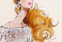 Retro&Modern Fashion Illustration