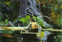 Winslow Homer watercolors, drawings, paintings