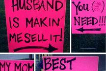 Garage sale idea