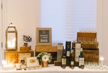 Cigar & Whiskey Bar / Weddings with cigars and whiskey