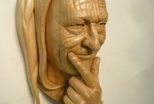 Woodcarving.Author.Ian Norbury / Скульптор Дерево Ian Norbury