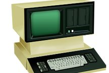 Retro Electronics / Retro electronic and digital equipment. Things have come a long way in a short time.