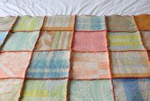 creatief met oude dekens