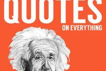 Einstein / Visdomsord frå Einstein