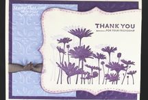 Upsy Daisy-Stampin Up / Cards using Upsy Daisy Stamp set from Stampin Up / by Sue Richardson