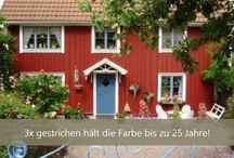 BIOKAY Schwedenfarbe / Schwedenfarbe ist eine günstige, sehr lange haltende Farbe für den Aussenbereich mit 400 jähriger Tradition!