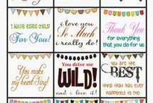 Printables for Hubby