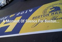 Boston Forever Strong / #BostonForeverStrong Remembering 4-15-2013 one year later. Looking forward to marathon Monday. #BostonStronger           A moment of silence for Boston...