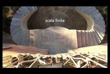 fasi di realizzazione scala ad ellisse / sostituzione di una vecchia scala ad ellisse in arenaria, calcolo dei fuochi e realizzazione di una nuova