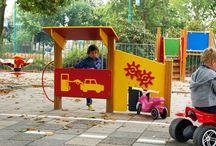 Verkeersplein op het schoolplein