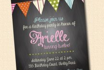 birthday card invitation