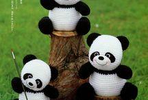 örgü pandalar
