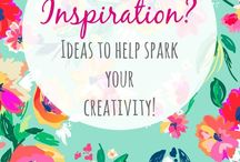 Creative Inspiration / Stuff to inspire creativity