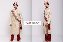 Sherwani / Check out the wide range of latest sherwanis or get it customized as per your size. Just point your browser to http://www.aziodesign.com and have a look at the latest collection by AzioDesign