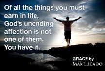 GRACE / GRACE: More Than We Deserve, Greater Than We Imagine by Max Lucado - Now available as a paperback