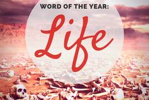 LIFE- Word for the Year 2018